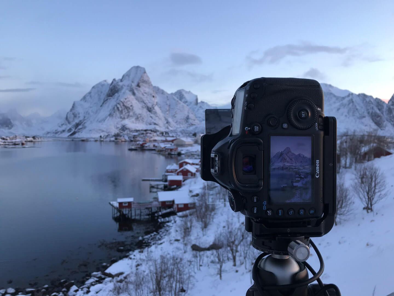 Making of: Reine kurz vor Sonnenaufgang