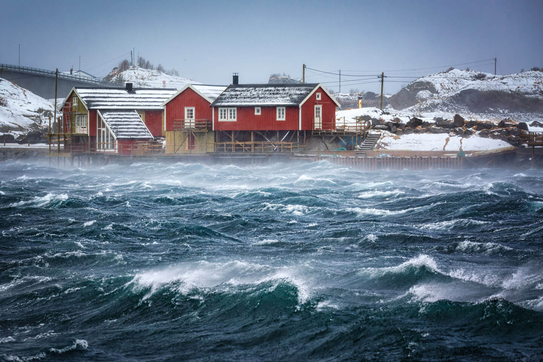 Sturm in Hamnoy