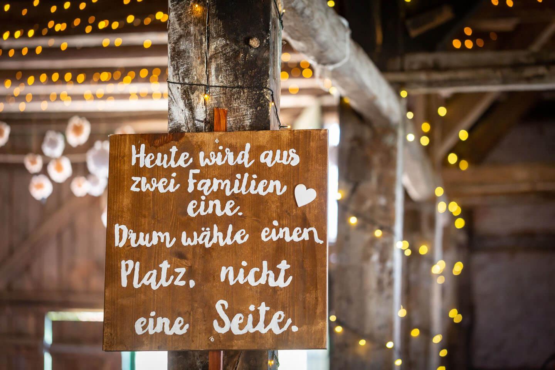 Spruch Hochzeit