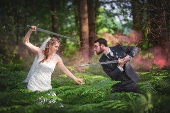 LARP Hochzeitsshooting, Fotograf: Florian Läufer