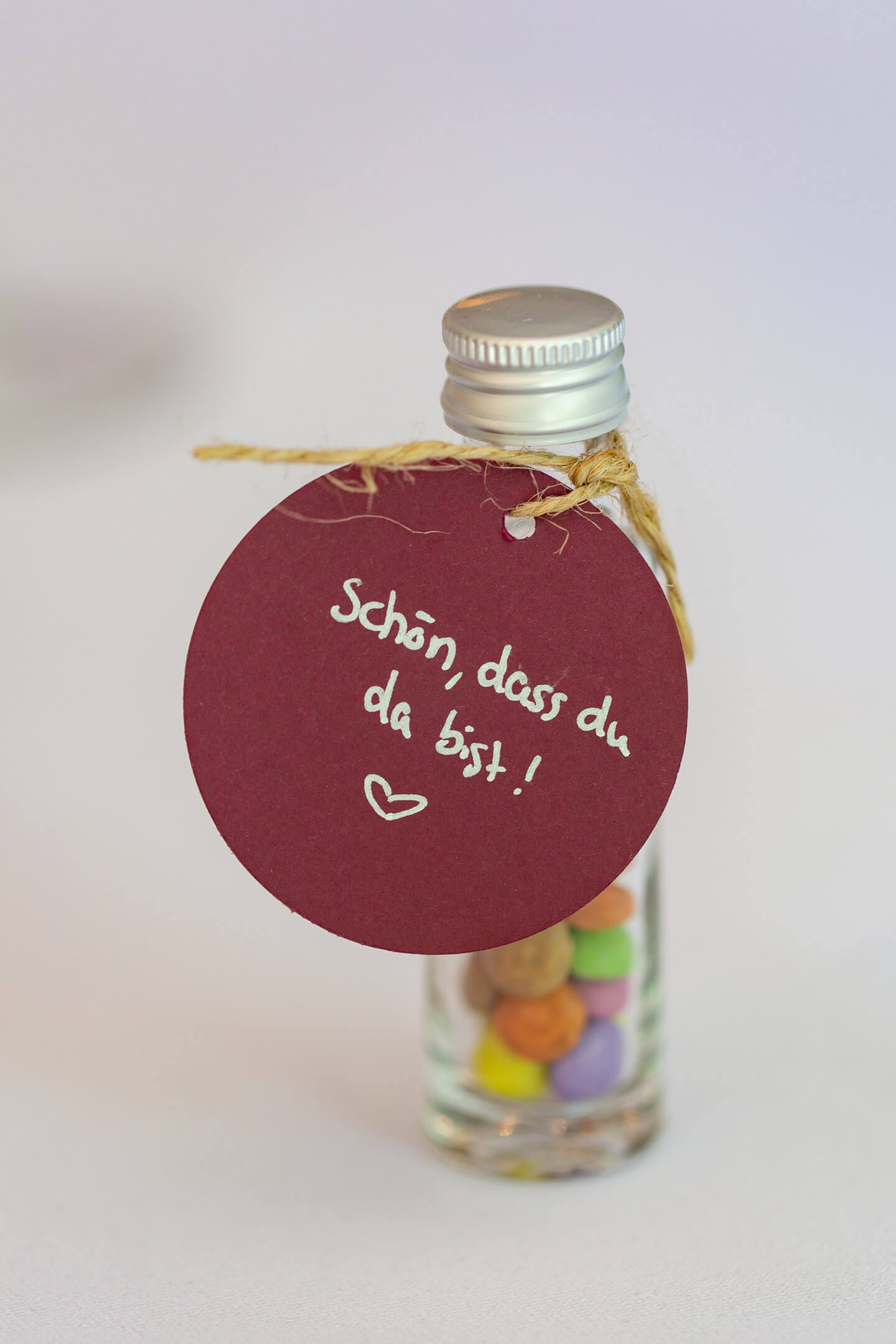 Kleines Gastgeschenk für die Hochzeitsgäste