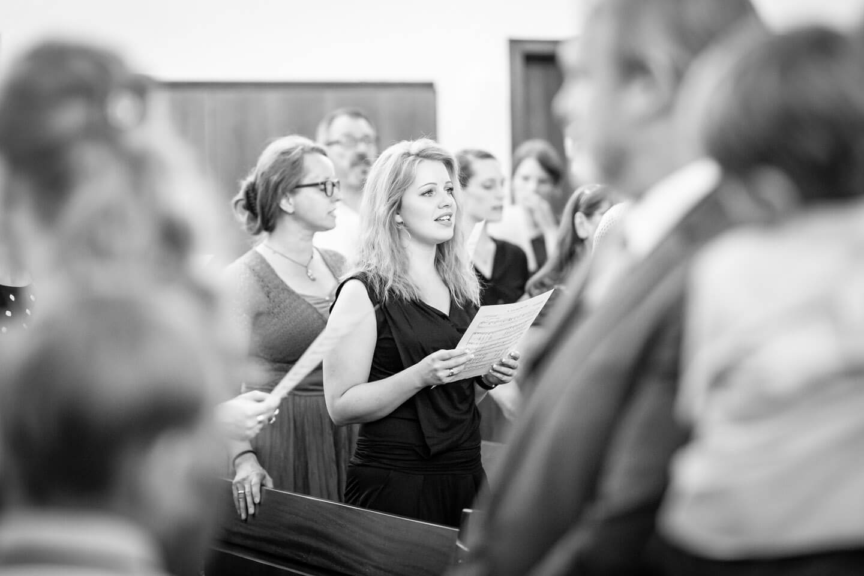 Sängerin des Kirchenchors