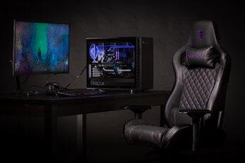 Produktfotografie für Gamer-Stuhl der Marke Tesoro