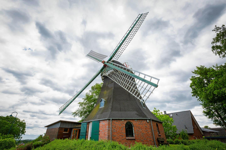 Die Windmühle Dibbersen als Location für standesamtliche Trauungen
