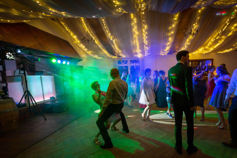 Dancefloor im Nebel