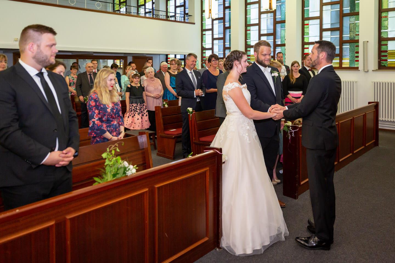 Traungszeremonie in der Neuapostolischen Kirche