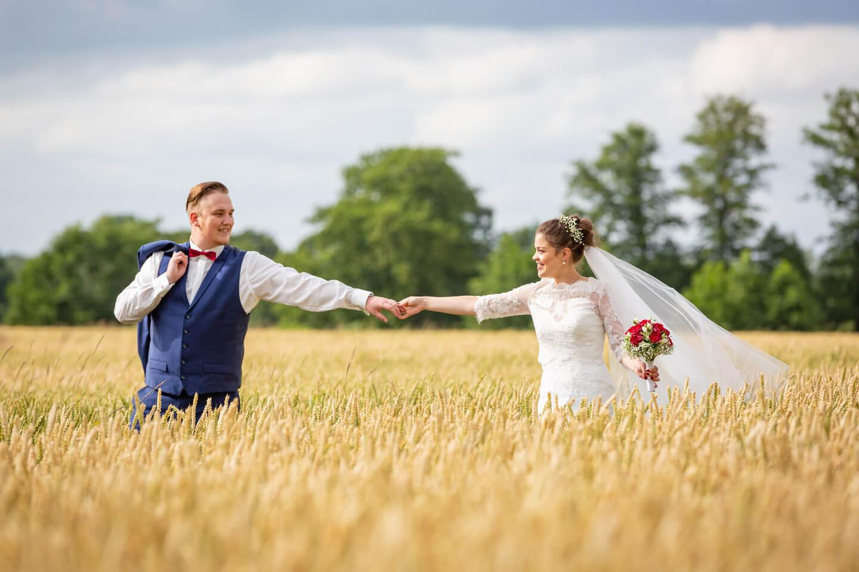 Brautpaarshooting Kornfeld
