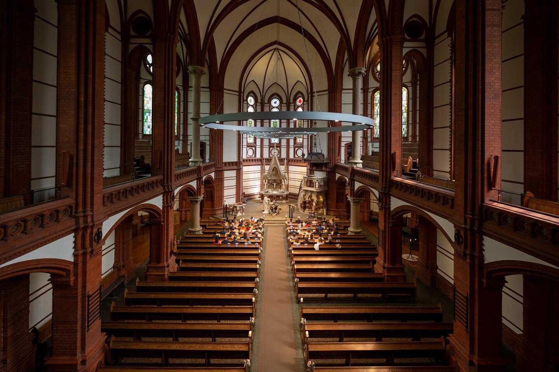Trauung in der St. Gertrud-Kirche in Hamburg