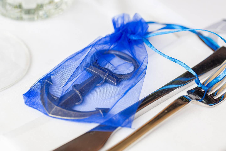 Kleines maritimes Gastgeschenk für die Hochzeitsgäste