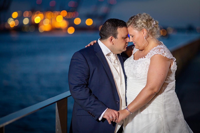 Hochzeitsfotos im Hamburger Hafen