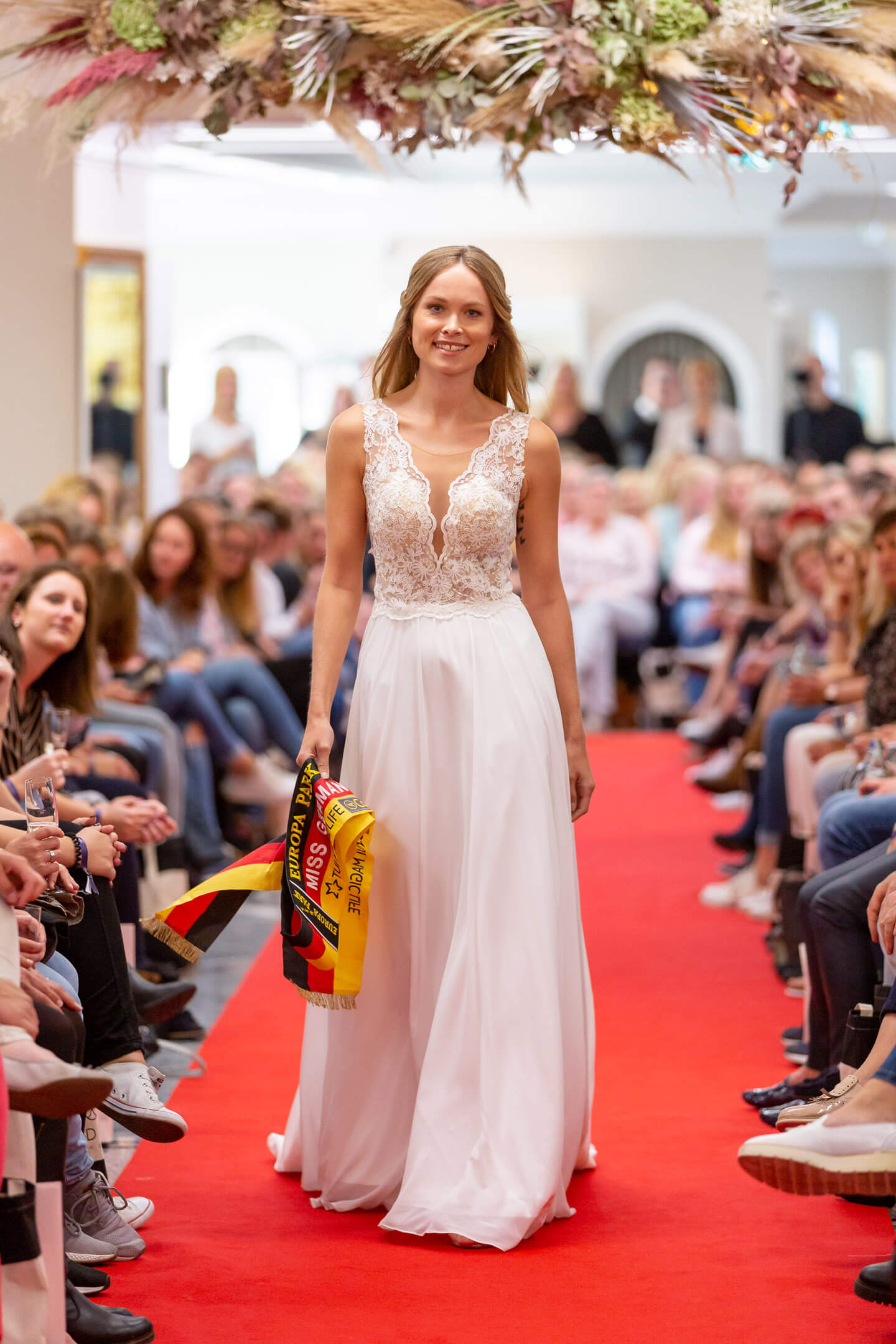 Miss Germany 2019 Nadine Berneis auf der Laueland Inspo & Expo 2019 (Foto: Florian Läufer)