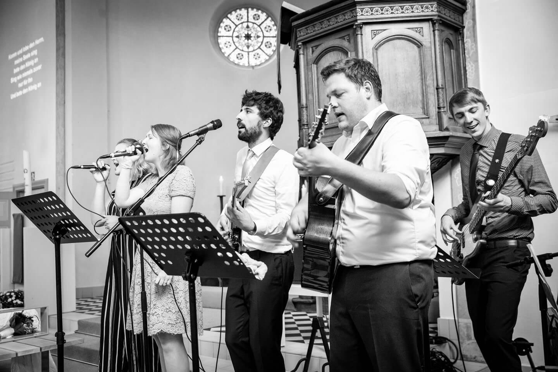 Live-Musik im Haus der Begegnung in Bad Oldesloe während einer Hochzeit