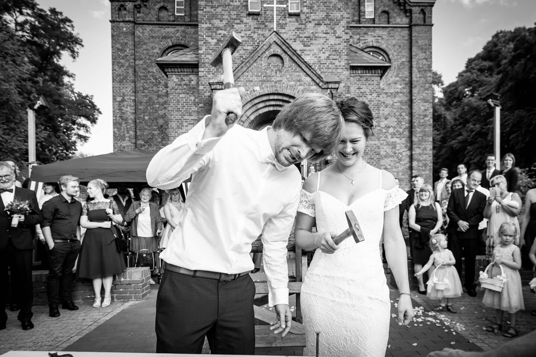 Nagelbrett Hochzeitspaar