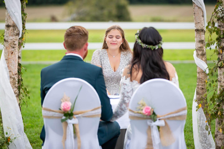Hochzeitsreportage Gartenhochzeit