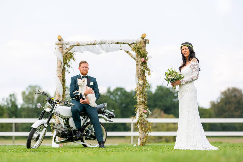 Hochzeitsshooting in Norddeutschland (Fotograf: Florian Läufer)