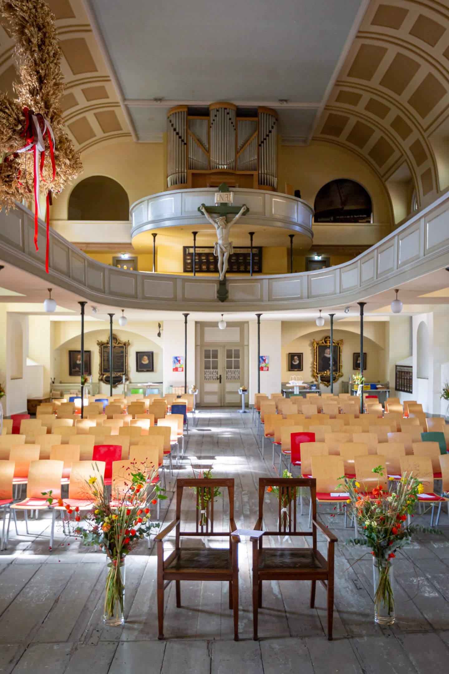 St. Pauli Kirche von innen