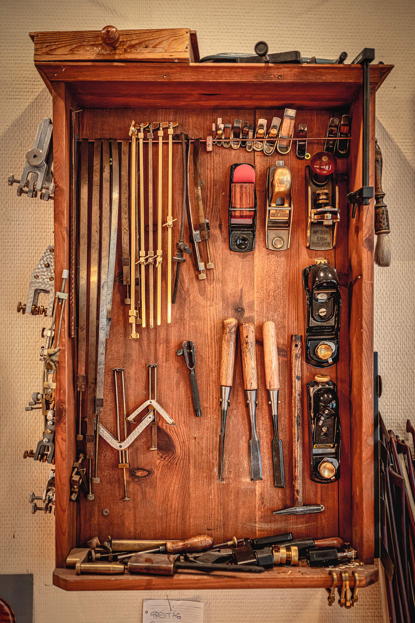 Werkzeugkasten, Handwerker
