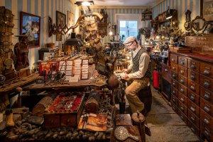 Handwerkerfotos des Augenoptikermeisters Jörn Dackow (Fotograf: Florian Läufer, Hamburg)