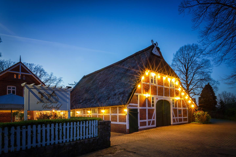 Der Hochzeitsfotograf Florian Läufer aus Hamburg machte dieses Foto vom Landhaus Westerhof