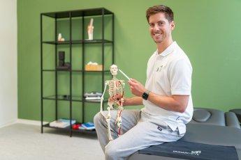 Portraitfoto Physiotherapeut Christoph Distler. Fotograf: Florian Läufer