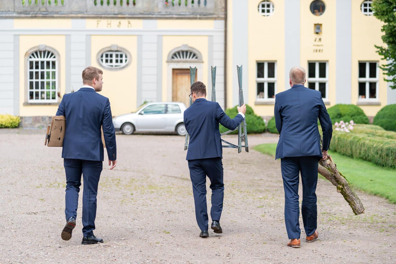 Baumstamm Hochzeit