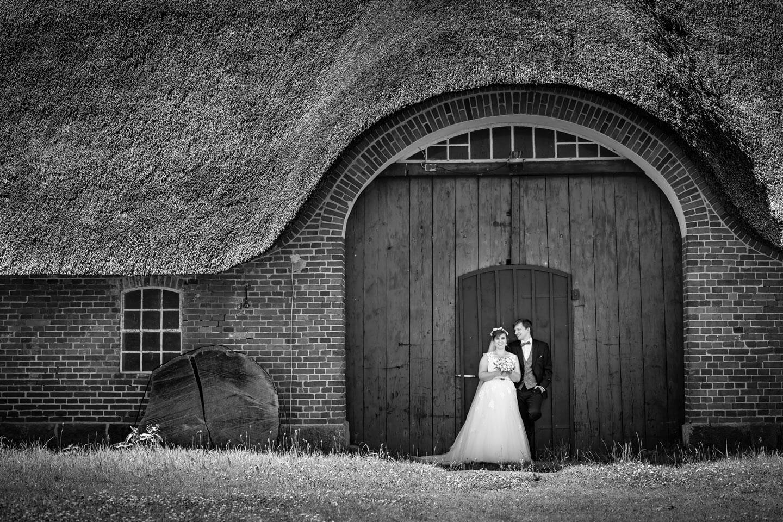 Hochzeitsfoto in Schwarzweiß (Foto: Florian Läufer)
