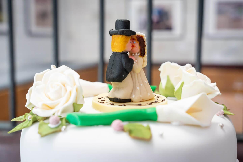 Marzipan Hochzeitspaar