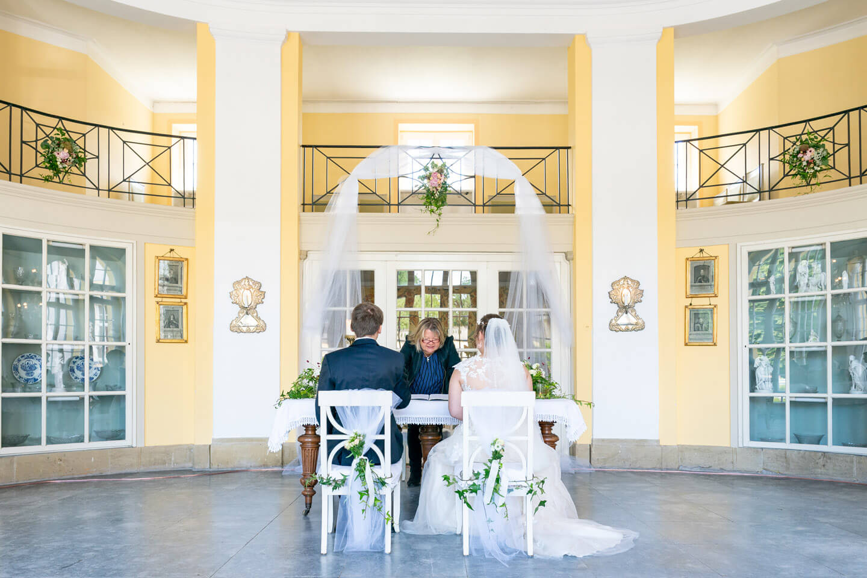 Standesamtliche Hochzeit in der Orangerie