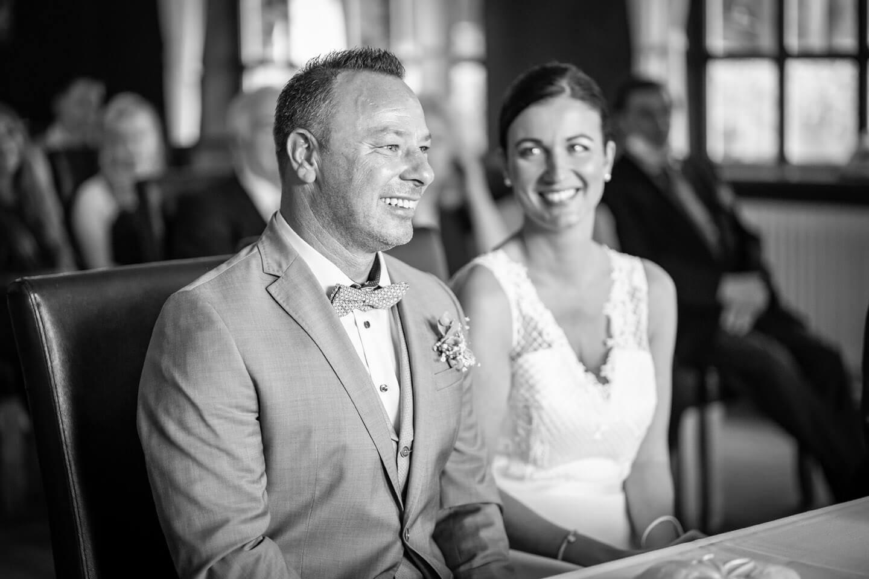 Brautpaar Schwarzweiß