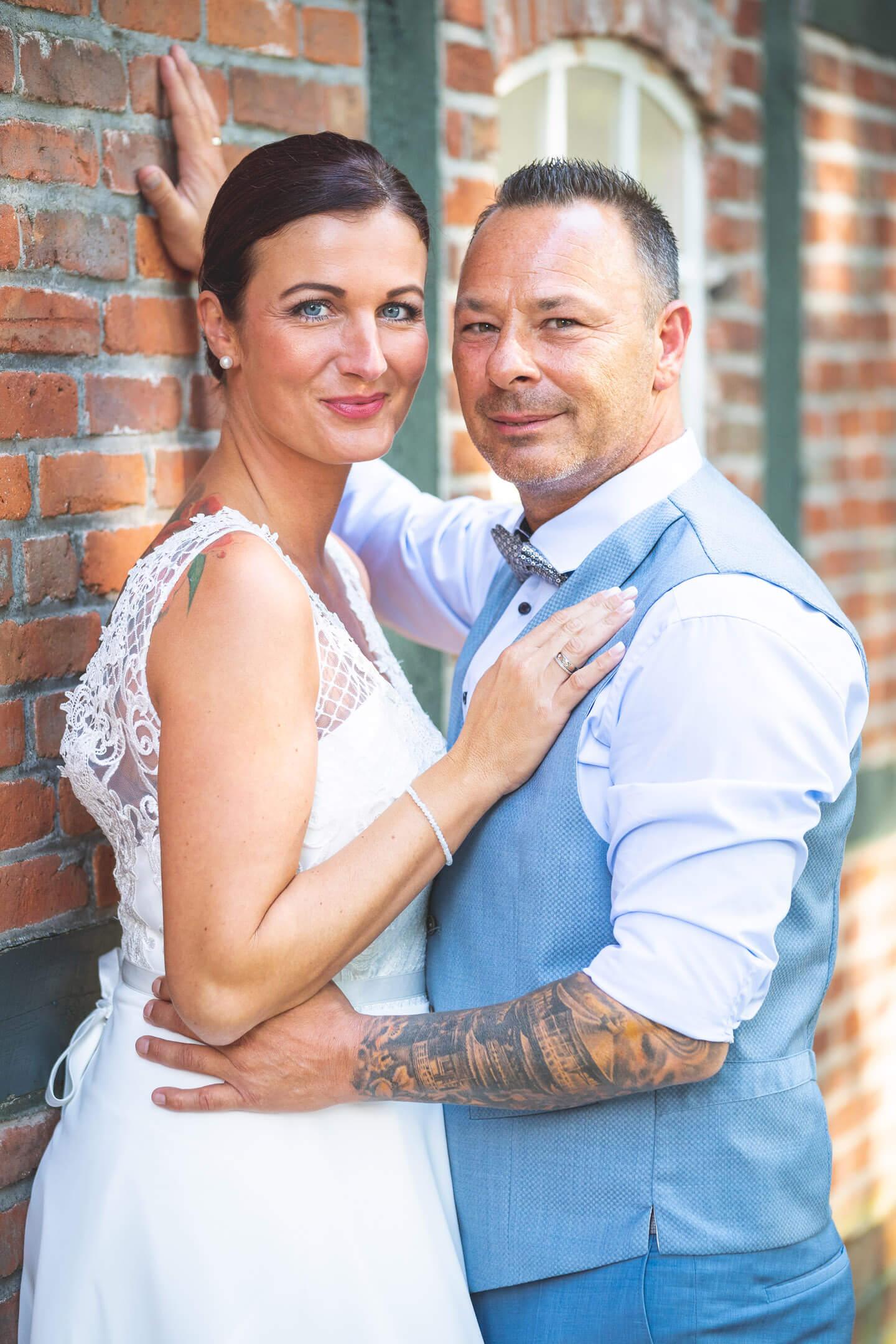 Hochzeitsfotos am Fachwerkhaus