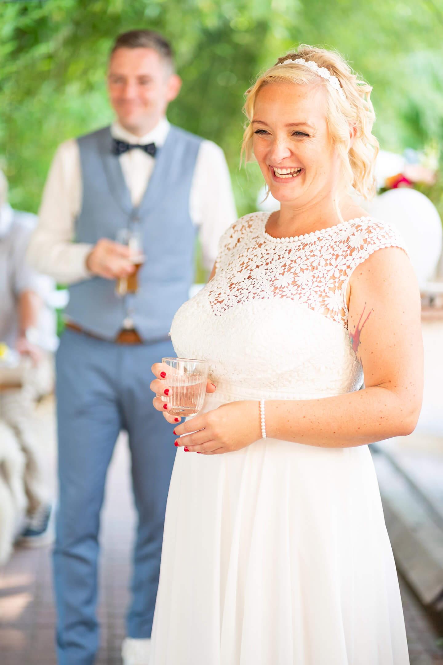 Strahlende Braut - festgehalten vom Hochzeitsfotograf Florian Läufer