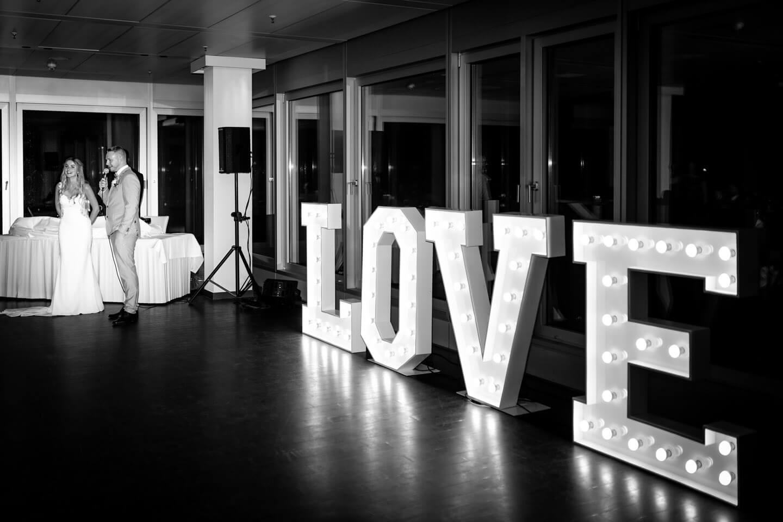 Ansprache des Hochzeitspaars