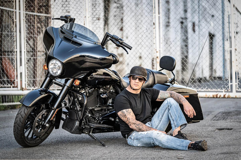 Motorrad-Shooting · Florian Läufer - Fotografie