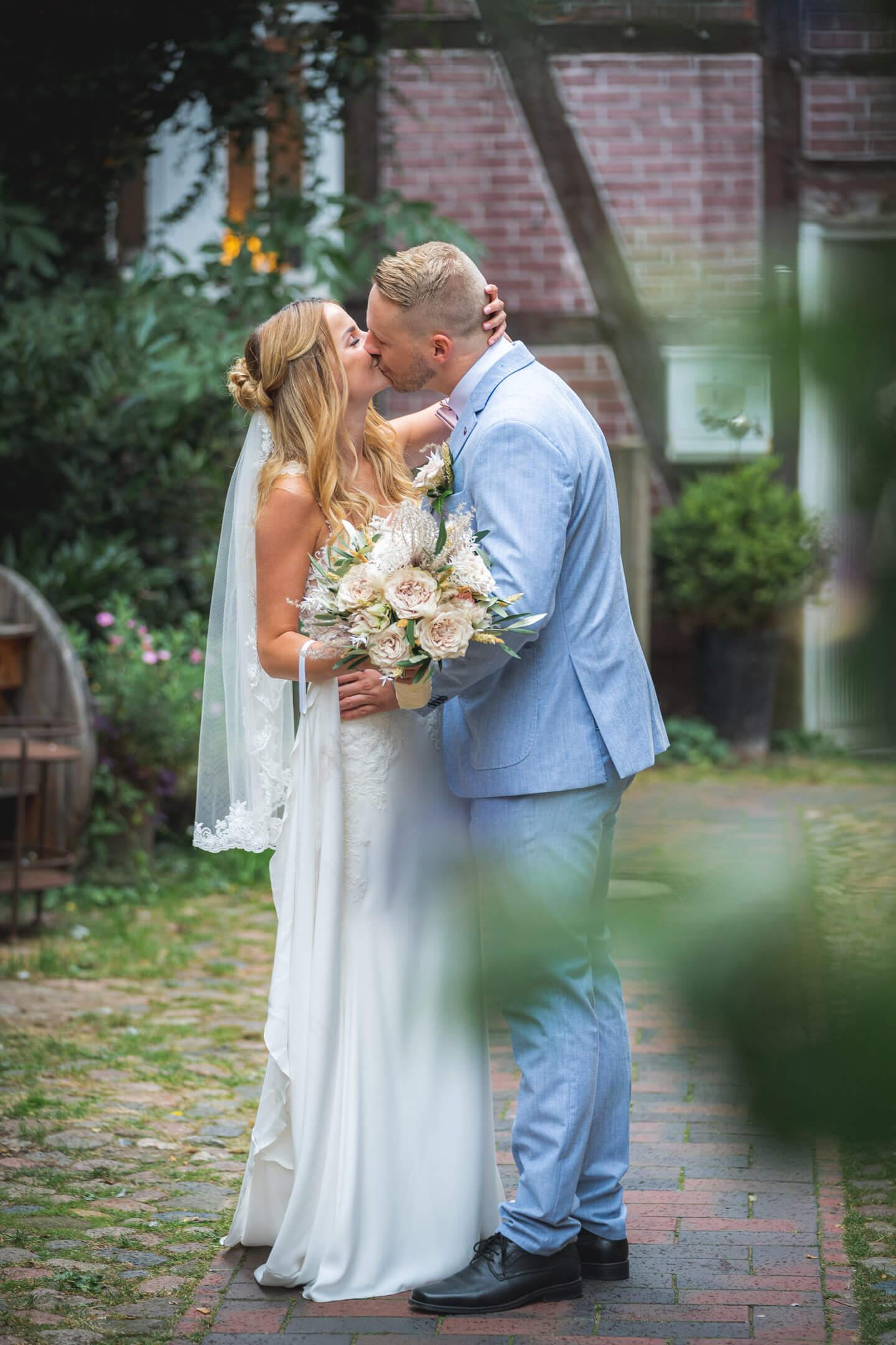 Fotoshooting Hochzeit, Buxtehude