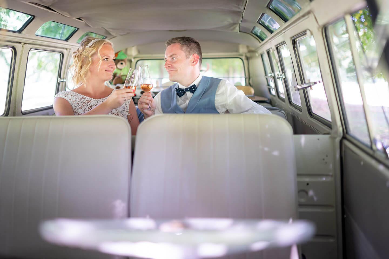 Hochzeitsbilder VW-Bulli