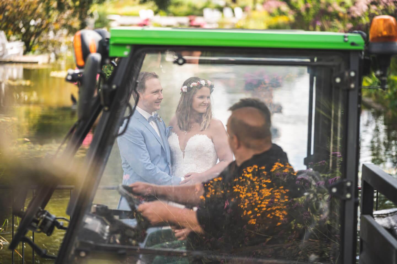 Outtake Photobombing Hochzeitsbilder