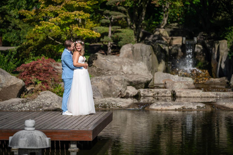 Fotoshooting Hochzeit Planten un Blomen
