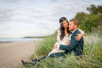 Hochzeitsfotos am Strand mit dem Hochzeitsfotograf Florian Läufer aus Hamburg