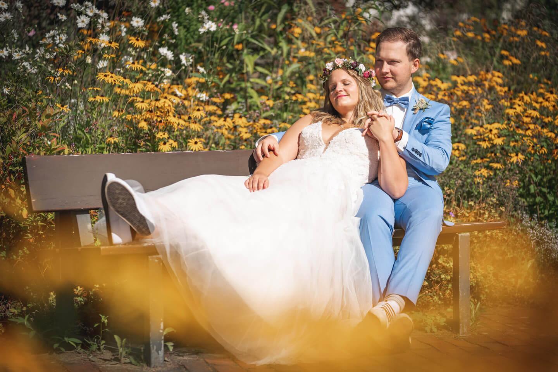 Hochzeitsfotos Planten un Blomen