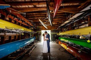 Individuelle Hochzeitsfotos im Ruderclub Hamburg. Fotograf: Florian Läufer