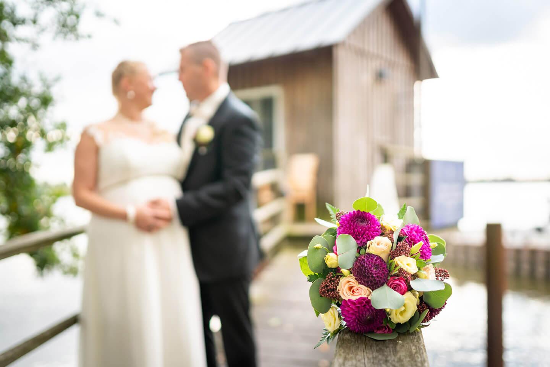 Brautstrauß beim Hochzeitsshooting