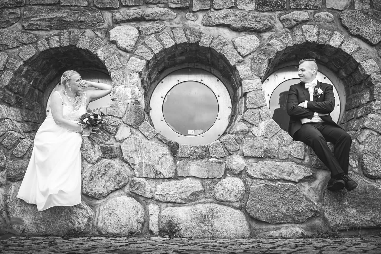 Zollenspieker Hochzeitspaar