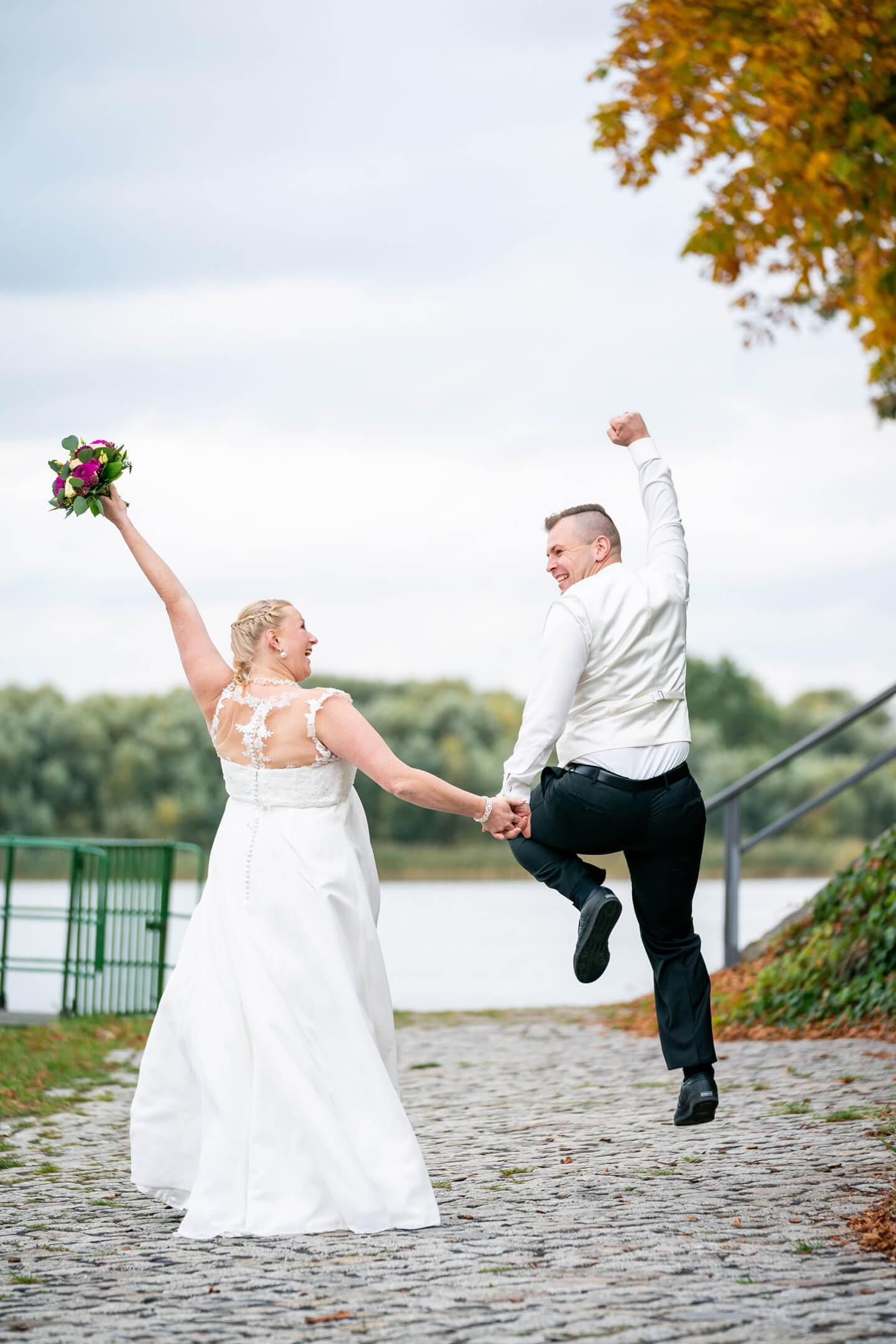 Behind the scenes: Hochzeitsfotos am Zollenspieker