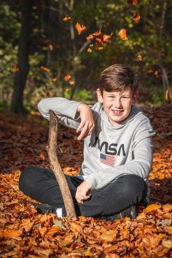 Herbst Kinderfotos