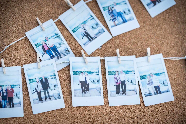 Instax Erinnerungsfotos Hochzeit