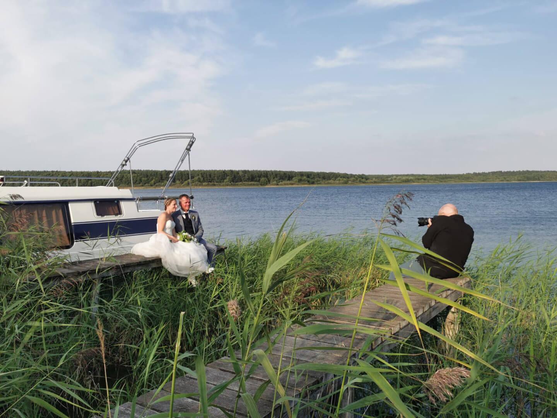Making of Hochzeitsfotos am Fleesensee