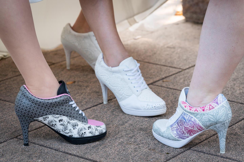 Coole Schuhe Hochzeit
