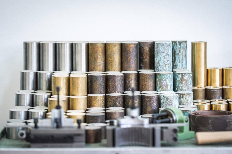 Metall zur Weiterverarbeitung