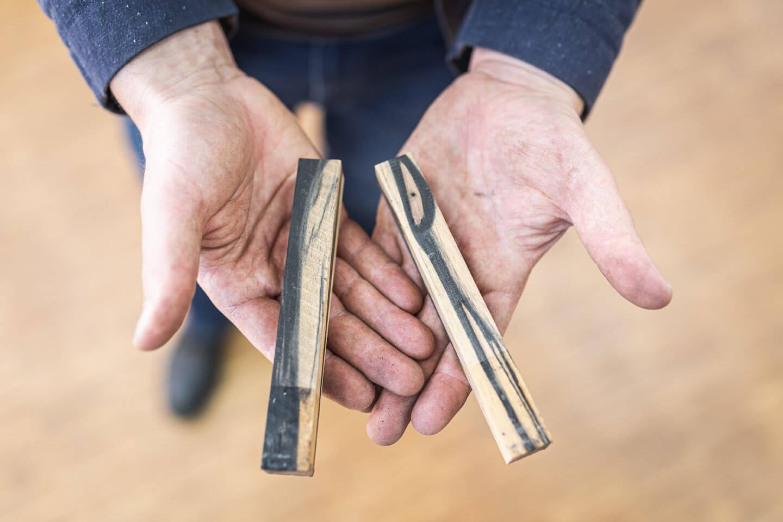Rohlinge zur Herstellung edler Schreibgeräte