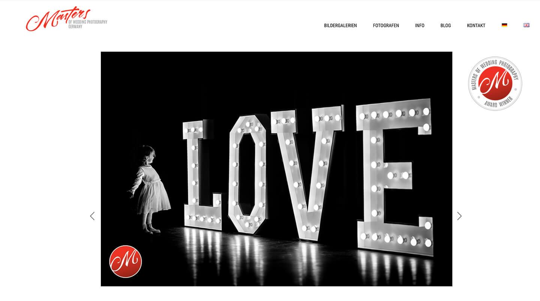 Hochzeitsfotograf Florian Läufer aus Hamburg gewann mit diesem Foto einen Award bei Masters of Wedding Photography